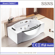 One person hot bath massage tube with tempered glass
