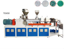 wood plastic recycling and pelletizing machine/wood pellets making machine
