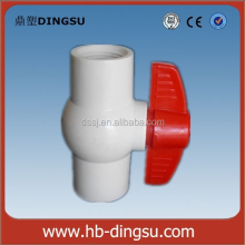 90mm Diameter UPVC Ball Valve Acid Resistant