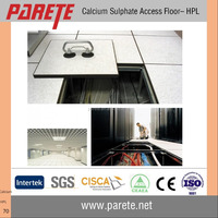 Data center calcium sulphate raised floor