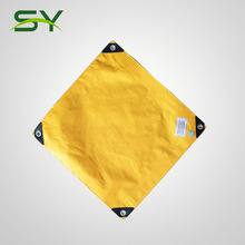 house roof cover materials pe tarpaulin canvas sheet
