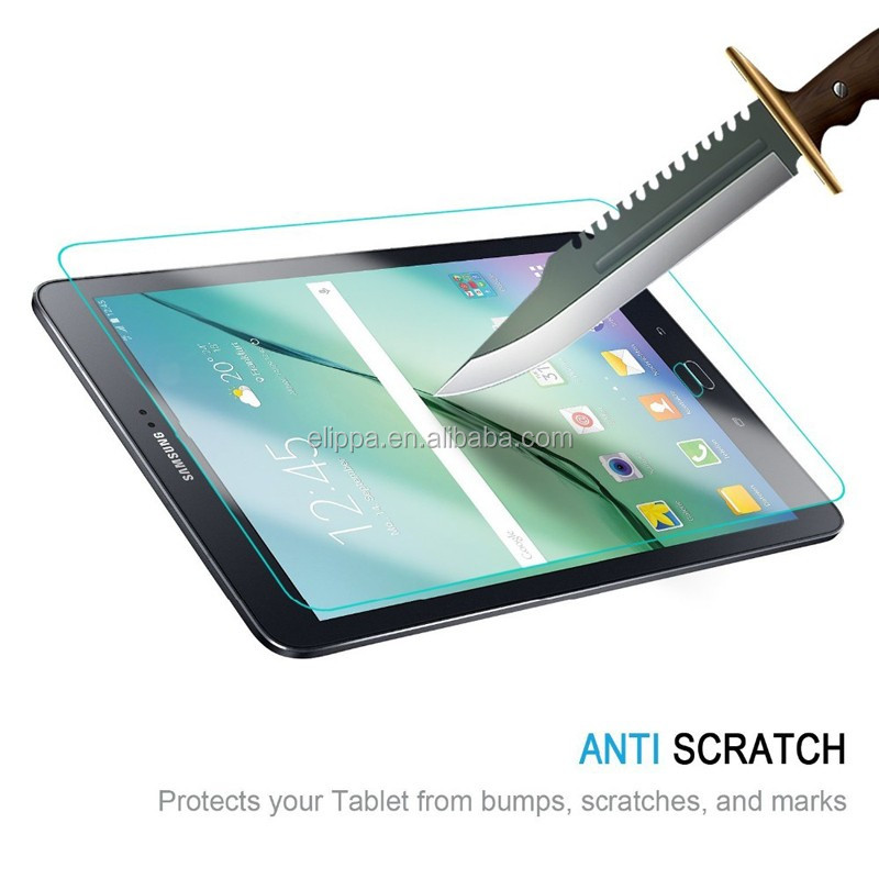 Factory Price lcd filter screen guard for Samsung Galaxy Tab S2 T810 with 9.7inch ,shatterproof tough screen protector