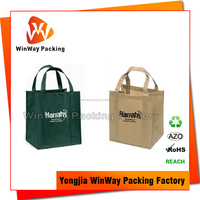 Recyclable Non Woven Material Custom Tote Bag