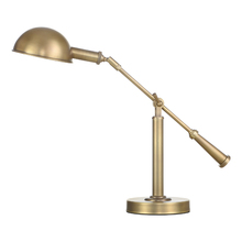 Customization american style vintage brass table lamp industrial