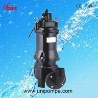 Big Flow and High head centrifugal submersible pump