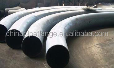ASME B16.49 Carbon Steel 90 Degree 135 Hot Induction pipe Bend