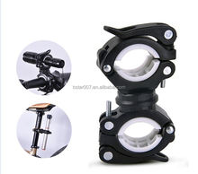 Hot sell bike flashlight holder cycling bicycle bike mount for led flashlight torch clip clamp
