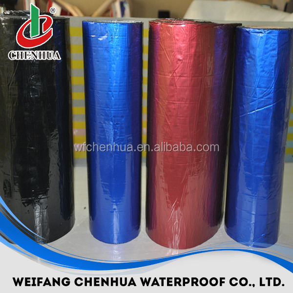 1.2mm Self-adhesive bitumen waterproof aluminium flashing tape