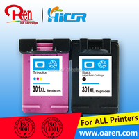 cartuchos de tinta for hp 301 ink cartridges with refilled cartridge chips for hp 301