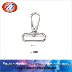 G010 iron spring hook for dog collar hardware