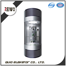 Sightseeing elevator observation lift indoor and outdoor panoramic elevator