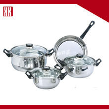 Professional Kitchen Cookware Set Stainless Steel Cooking Pan