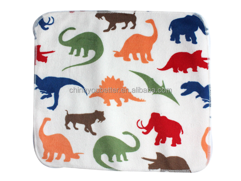 New Pattern Bamboo Wipes Cheap Baby Cloth Wipes Reusable Baby Washcloth