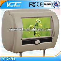 automotive headrest TFT lcd monitor with DVD
