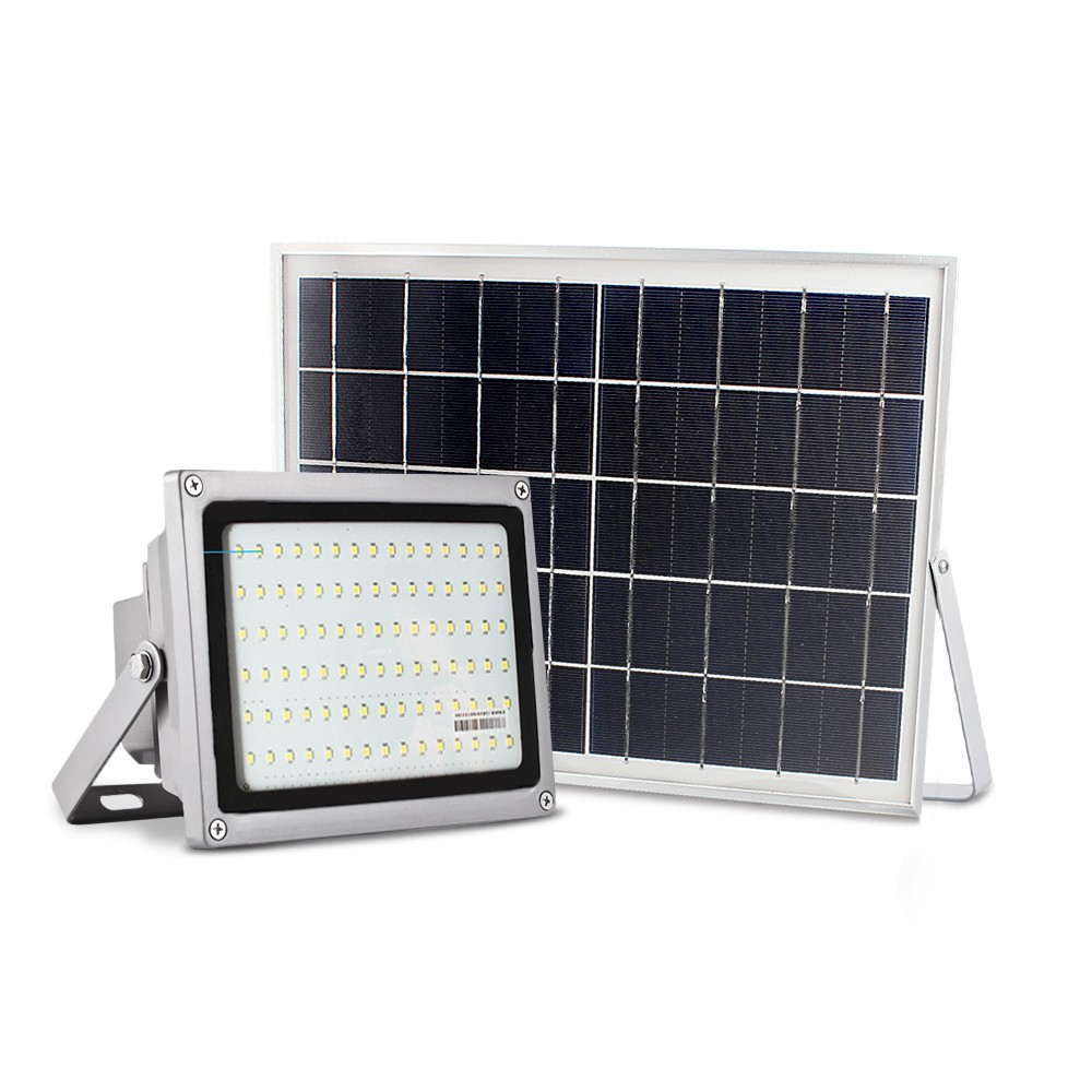 Waterproof outdoor ip65 portable rechargeable 12W solar led flood light