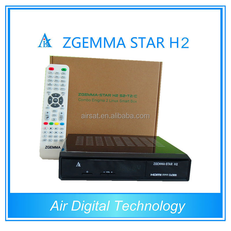 2015 New Original Zgemma star h2 <strong>satellite</strong> receiver IN STOCK