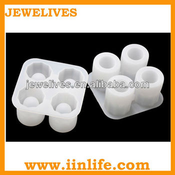 round shape silicone ice cube tray,silicone ice cube mold