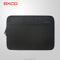 2015 newest EXCO lint lining black portable water proof neoprene laptop bag sleeve 13
