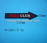 High quality embroiderried with polo club patch