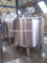 stainless steel 2000L mixing tank with top agitator
