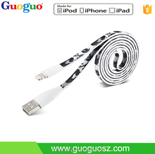Alibaba China Best Selling Network Power Cable MFi Certified USB Data Charging cable
