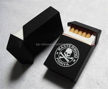 Brushed Surface Finish and Silkscreen Printing Logo Craft cigarette case