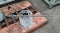 wheel-side reducer assembly