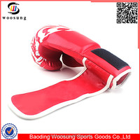 Professional custom logo printed boxing gloves punching mitt