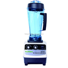 Automatic timer and speed commercial blender