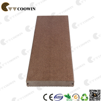 Brown color solid parquet flooring