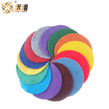 Factory sale cheap colors polyester non-woven fabric felt