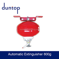 600 g ABCE powder automatic extinguisher use in shipping