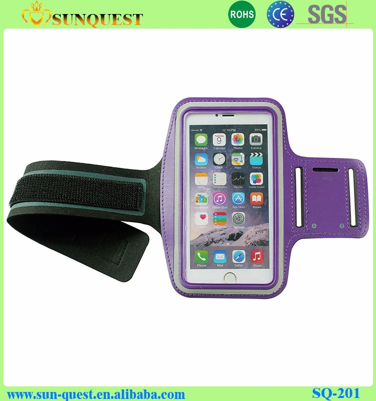 Hot Neoprene Gym Sports Running Armband Arm Band Pouch Case Cover Armband For Iphone 5