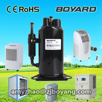 split air conditioner accessories parts rotary compressor for water cooling air handling unit