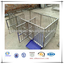Foldable Powdered /Galvanized Wire /Tube Dog Crate/Pet Cages/Kennels Supplier