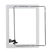 Black and White Screen Replacement for iPad 3 4 5 MINI TP Touch with Digitizer