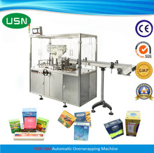 USN-260 Small Automatic Cellophane Wrapping Packing Machine for Sale