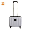 White ABS PC Laptop Case Pilot Luggage
