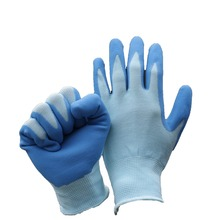 NMSAFETY EN388 2131X latex rubber hand gloves
