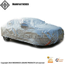 Aluminum foil composite cotton anti-scratch summer heatproof /sun proof and sun protection full car cover