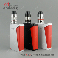 Hot Selling 220W Mod Box With Smok H PRIV,TC full Kit Smok H-priv