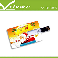cost shipping business giveaways foldable card usb flash drive