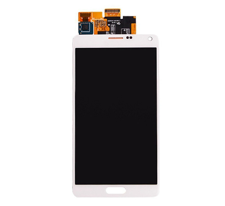 12 months warranty mobile phone for samsung galaxy note 4 unlocked lcd for galaxy note 4