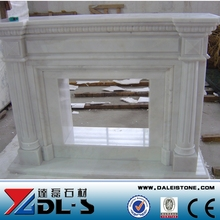 Indoor Marble Fireplace Mantel
