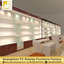Commercial beauty products display shelf customized bags display rack handbag display stand for retail shops