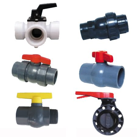 Low price to sell 1-2 inch internal thread wire pvc plastic ball water switch valve