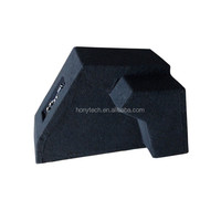 paper cone active powered subwoofer car audio box system for golf car 8 inch high power provided