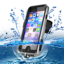 Stylish Outdoor Waterproof Phone Case For IPhone 7 IP68 Plastic Cover