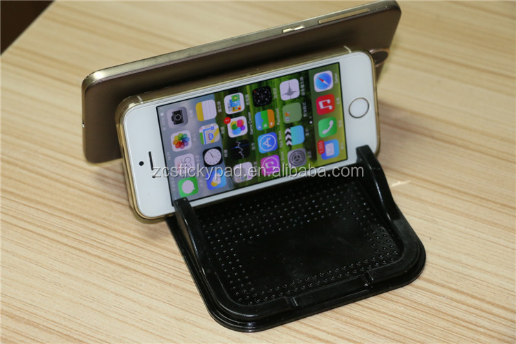 Car dashboard magic pu gel mobile phone holder