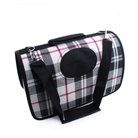 Classic Pattern Durable Fabric Carrier Bags Small Dog